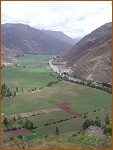 Peru - start of the sacred valley.